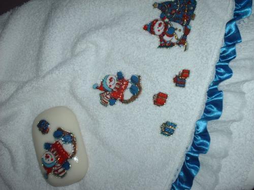 Fotos de Paños y jabones decorados 4