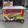 mascotin vende trailers y carros perros calientes y hamburguesas