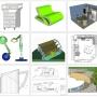 SE DIGITALIZAN PLANOS EN AUTOCAD 2D Y MODELAN EN 3D 3DMAX