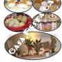 pasapalos dulces bufett mesa de frutas globos