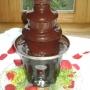 Fuente de chocolate...... Una cascada de sabor¡¡¡¡¡¡¡¡