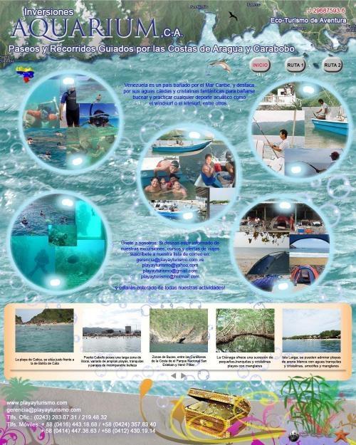 Turismo de aventura por aguas venezolanas