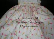 Creaciones lm, bellos vestidoa para niñas elaborados con las mejores telas