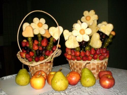 Arreglos con frutas related keywords arreglos con frutas for Centros de mesa con frutas