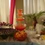 Alquiler de sillas, mesas, mesones, toldos,  Fuente de chocolate,Coctel