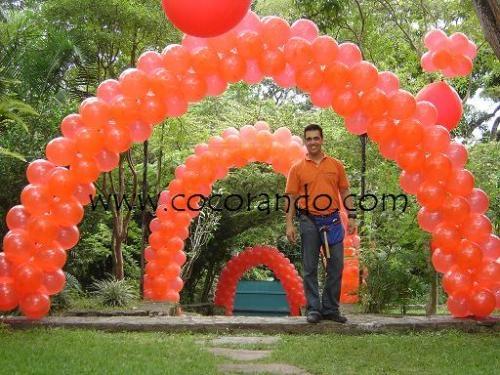 Fotos de Decoraciones con globos, mallas de globos, helio, esculturas con globos 1