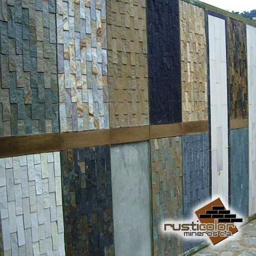 Lajas y piedras decorativas, revestimientos rústicos en Carabobo