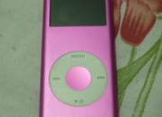 ipod nano rosado de 4gb en perfecto estado