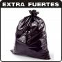 BOLSAS PLASTICAS NEGRAS  40 Kg EXTRAFUERTES