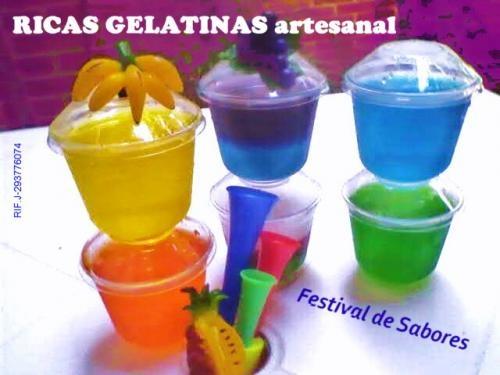Ricas gelatinas para sus eventos tipo mundial - Caracas, Venezuela ...