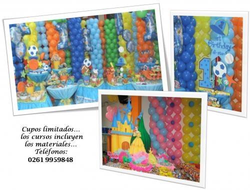 Cursos de piñateria foamy globos tarjeteria maracaibo