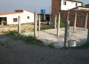 Vendo terreno zona residencial con placapiso y columnas