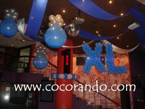 Fotos de Decoraciones con globos, mallas de globos, helio, esculturas con globos 3