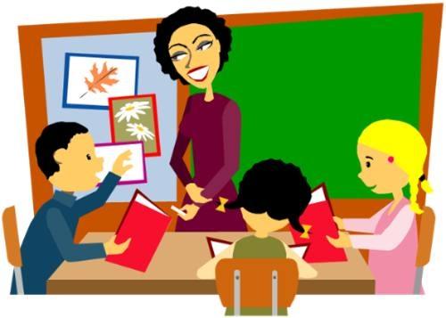Niños En Clase De Preescolar