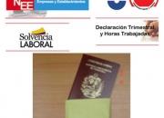 Gestoria; tramitación de documentos ? legalizaciones ? citas pasaportes ? antecedentes.