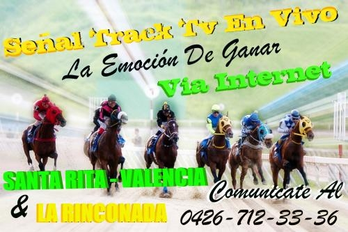 Carreras track tv en vivo y directo via internet original y en tiempo real 100% nitido
