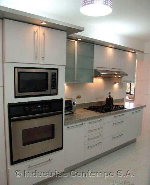 Modelos d cocinas empotradas imagui for Modelos de cocinas empotradas en cemento y porcelanato