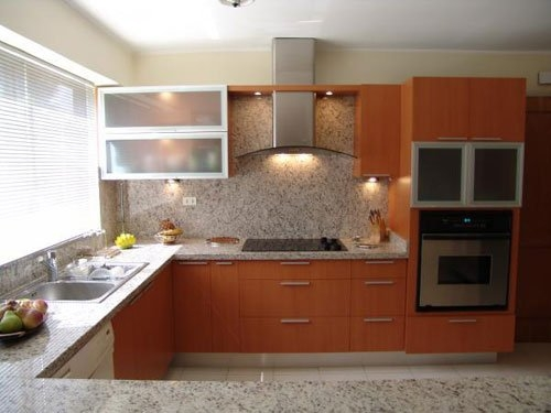 Modelos de cocinas empotradas peque as en ceramica imagui for Cocinas integrales de concreto pequenas