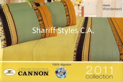 Sabanas cannon colección 2010 100% originales al mayor