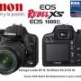 VENDO O CAMBIO POR LAPTOP Camara Digital Canon Eos Rebel T1i 15mp +lente Ef-s 18-55 Is