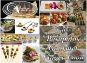 TALLER PRACTICO ELABORACIÓN PASAPALOS GOURMET FINGER FOOD VERSIONES NAVIDEÑAS 2010