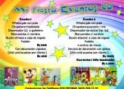 fiestas Infantiles decoracion piñatasy mas...