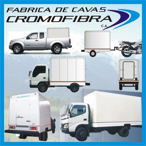 Cavas refrigeradas de fibra de vidrio para camiones f100 350 npr