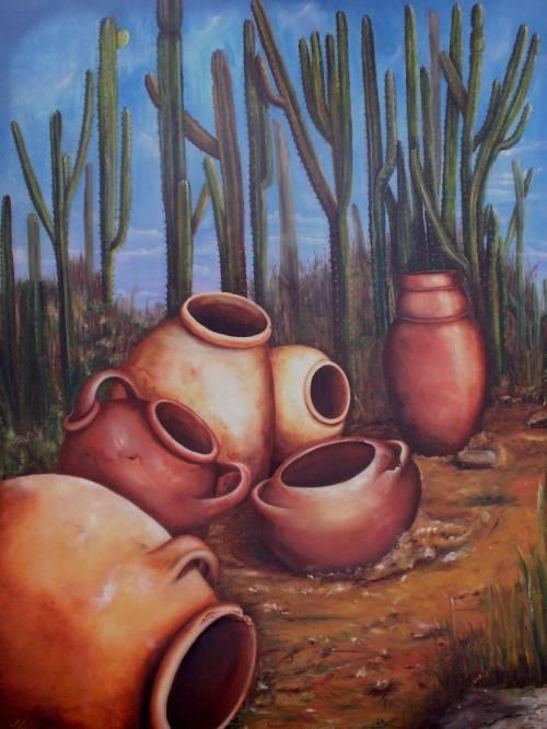 Pintura de la selva tropical paisajes colombianos al oleo for Comprar cuadros al oleo