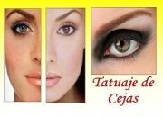 Maquillaje permanente (tatuaje de cejas)