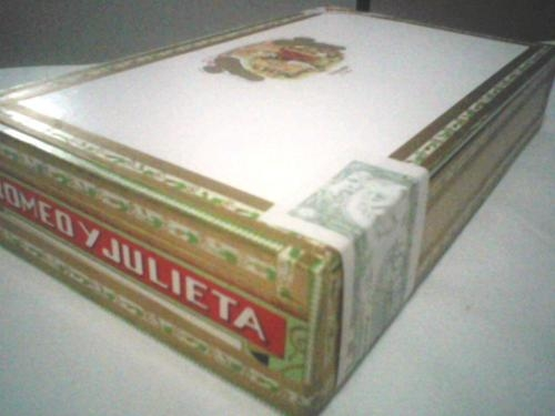 Habanos varias marcas cohiba esplendido y robusto, romeo y julieta