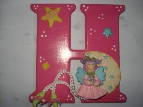 Ideas para decorar la pared de la habitaci n del beb - Letras habitacion bebe ...