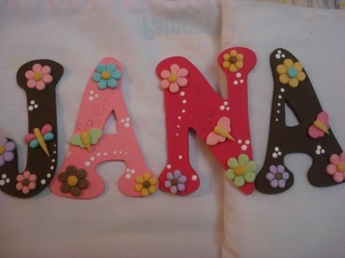 Letras De Decoracion Para Bebes ~ Letras para decorar el cuarto del beb?  Imagui