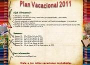 PLAN VACACIONAL MARACAIBO 2011