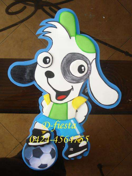 Fotos de Muñecos en Foami para decorar Fiestas Infantiles ...