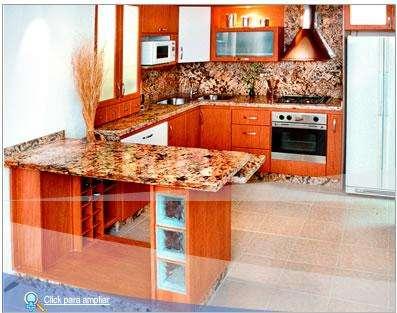 Marmol o granito para la cocina cocina de granito y - Todo para tu cocina ...