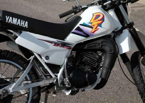 Fotos de Vendo dt 175 yamaha modelo 1998 blanco 3