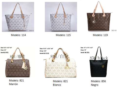 CARTERAS MK (MICHAEL KORS) AL MAYOR!