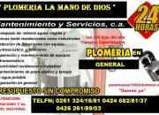 PLOMERIA LA MANO DE DIOS C.A, PRESUPUESTO GRATIS