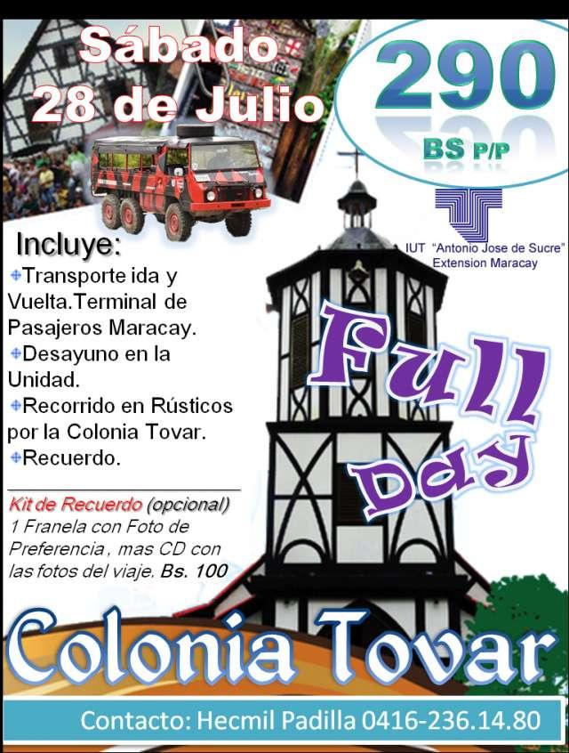 Viaje Colonia Tovar Fullday Colonia Tovar Ven y