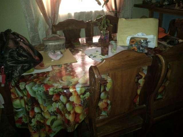 Venda de juego de comedor de madera rustica de 6 sillas echo en ...