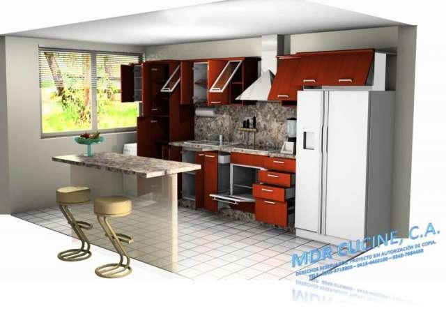 Imagenes de cocinas empotradas cocina formica blanca - Imagenes de cocinas empotradas ...