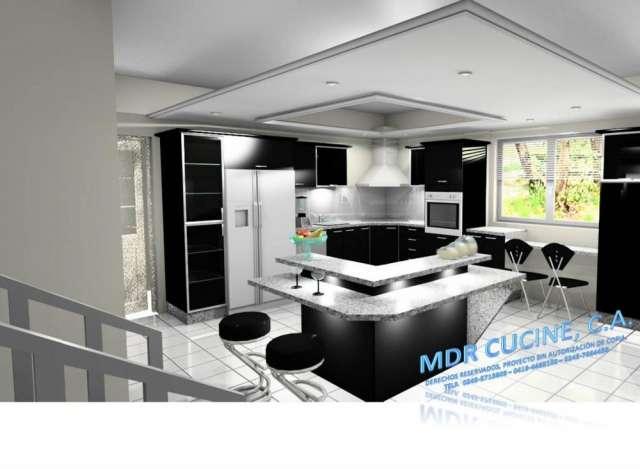 Cocinas empotradas en blanco y beige - Muebles infiesto ...