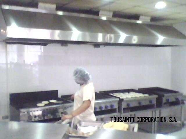 Campana industrial para cocina filtros metalicos with - Extractores para cocinas ...