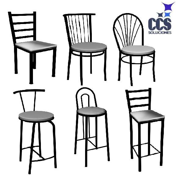 Barras para comedor top kid taburetes bar bar stool for Sillas comedor metal