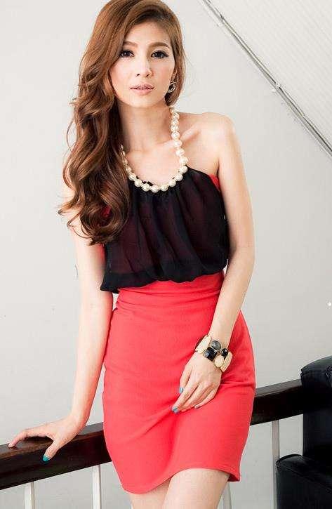Vestidos de moda asiatica - Imagui