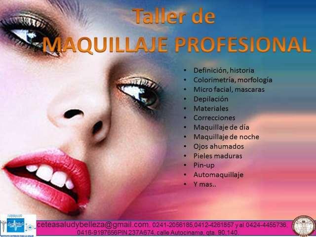 maquillaje profesional cursos