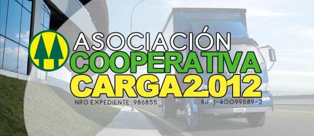 Servico de transporte / asociacion cooperativa carga 2012