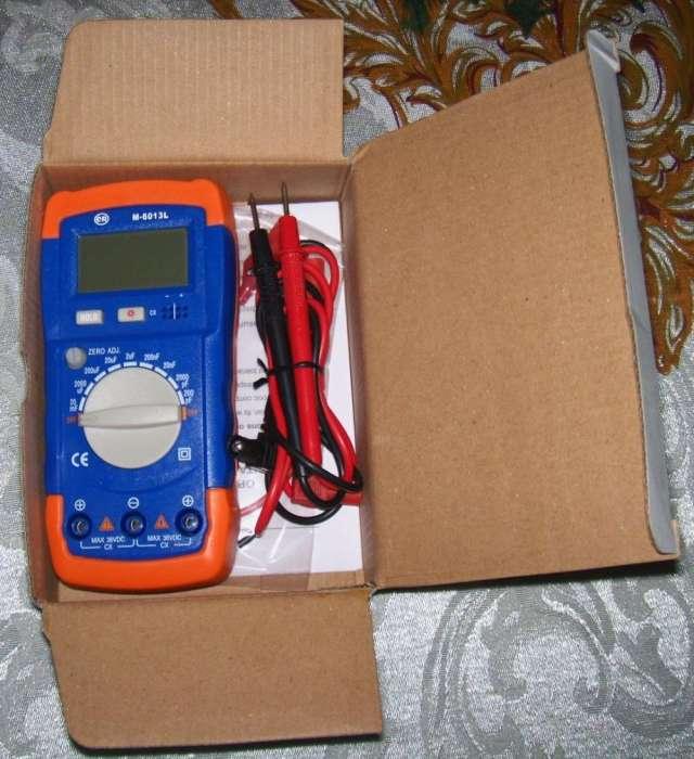 Capacimetro digital marca cr modelo m-6013l high risk