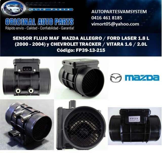 Sensor maf flujo de aire fp39 ford laser-allegro motor 1.8, tracker-vitara