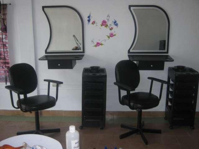 Mobiliario de peluqueria en merida para que inicies tu negocio, usado